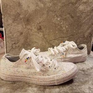Converse Pride Canvas Sneakers Sz 7.5 Women's